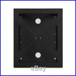 12U 19 Wall Mount Rack Open Frame Data Server Cabinet Enclosure 20 inch Depth