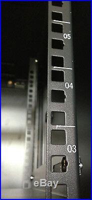 12U 35 Deep Server Enclosure Rack Cabinet IT Data Network Server Rack Cabinet