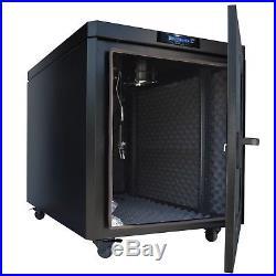 12U 35 Sound proof Network IT Server Cabinet Enclosure Rack New Modern Design