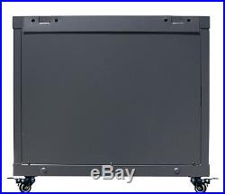 12U Server Rack Enclosure 35 Deep Cabinet/Free Shipping and Accessories