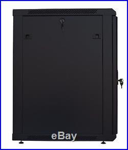 12U Server Rack Enclosure Cabinet 35 Deep Wall/Floor 19 IT Data Network Rack