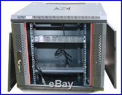 15U 24 Deep Server Rack Enclosure Cabinet Best Wall/Floor Server Rack