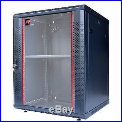 15U 24 Depth IT&Telecom Wall Mount Server Data Cabinet Enclosure Rack. CDM
