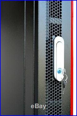 15U 24 Inch Server Rack Cabinet IT Data Network Rack Enclosure