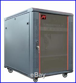 15U 35 Depth IT Network Server Data Case Cabinet Rack Enclosure Sysracks