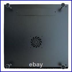 15U IT Rack 24 Inch Depth Data Enclosure Network Server Cabinet with Bonus