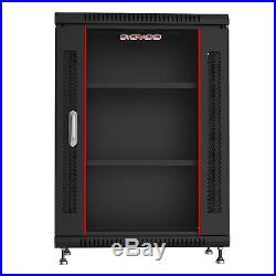 15U Rack 24 Inch Deep Server Cabinet Data Network Enclosure