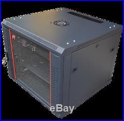 15U Rack 35 Deep Server Cabinet Enclosure