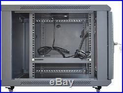 15U Rack 35 Inch Deep Server Cabinet Data Network Enclosure