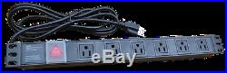 15U Server Cabinet 35 Depth Rack Enclosure/Free Shipping and Accessories