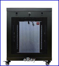 15U Server Rack Cabinet Enclosure Premium Series Sysracks 35 Depth