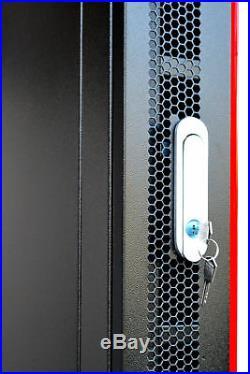 18U 18 Deep Server IT Lockable Network Data Rack Cabinet Enclosure Sysracks