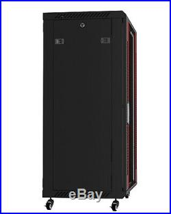 18U 24 Deep IT Wall/Floor Standing Server Rack Cabinet Enclosure