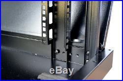 18U 24 Deep Server Rack Enclosure Cabinet PREMIUM Server Enclosure Data Cabinet