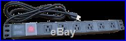 18U 35 Deep GRAY Server Telecommunication Network Data Rack Cabinet Enclosure
