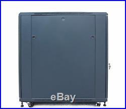 18u 39 Deep 19 It Free Standing Server Rack Cabinet