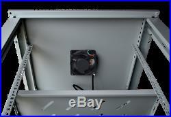 18U Rack Server Cabinet 24 Depth IT Data Enclosure/Free Shipping & Accessories