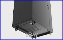 18U Rack Server Cabinet 39 Inch Deep Data Network Enclosure/Accessories Free