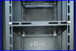 18U Server Cabinet 18 Depth Rack Enclosure/Free Shipping and Accessories