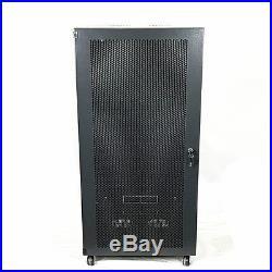 18U Wall Mount Network Server Cabinet Rack Enclosure meshed Door Lock