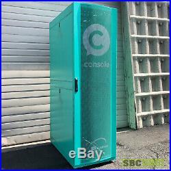19 42U Rack Mount Network Data Server Cabinet Enclosure- Green