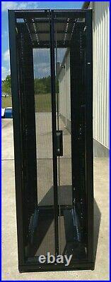 19 IBM 45w1405 2810-a14 Ar3100x547 42u Rolling Server Cabinet Rack Enclosure