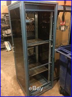 19 Rackmount Server Rack Enclosure Plexi Glass Or Secure Plant Grow Cabinet