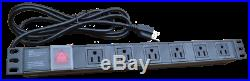 22U 32 Deep 19 IT Data Free Standing Server Rack Cabinet Enclosure+Bonus Free