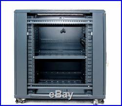 22U 39 Deep 19 IT Free Standing Server Data Rack Cabinet Enclosure Sysracks