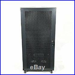 22U Network Cabinets Network Server Cabinet Rack Enclosure meshed Door Lock