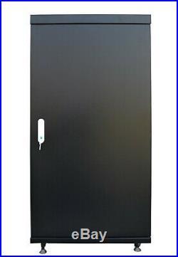 22U Server Rack Cabinet 32 Depth IT Data Enclosure/Free Accessories & Shipping