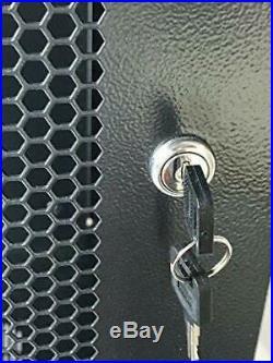 22U Wall Mount Network Server Cabinet Rack Enclosure Ventilated Door 10 Pieces