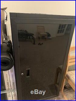 22u Network Server Cabinet Rack Enclosure Glass Door