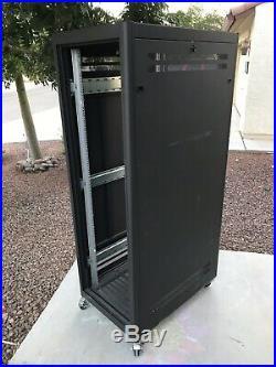 28 Deep 36U Rack Storage Array Server Enclosure Rackmount Cabinet