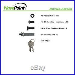 2U Vertical Enclosure Wall Mount Rack Low Profile Cabinet 20 Switch Depth Black