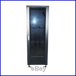 32U 23.623.6 Data Floor Standing Network Rack Cabinet Enclosure