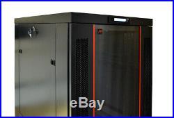 32U 32 Deep Server Rack Enclosure Cabinet IT Data Network Server Rack Cabinet