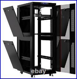 32U 32 Depth 19 Deep IT Network Data Server Rack Cabinet Enclosure Sysracks
