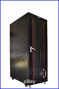 32U 39 Depth IT & Telecom Server Rack Cabinet Enclosure. CDM + Bonus Free