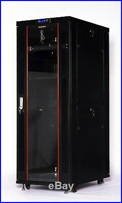 32U Rack 39 Inch Deep Server Cabinet IT Data Network Enclosure