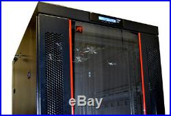 32U Sysracks IT Network Data Server Rack Cabinet Enclosure 39 Depth FREE BONUS