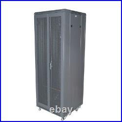 34U 23.6x 23.6 Server Rack Network Cabinet Enclosure Floor Standing