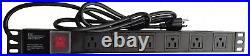 37U Rack IT Server Data Cabinet 39 Inch Depth Rack Enclosure & Accessories
