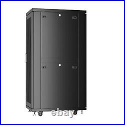 37U Server Rack It Cabinet Network Enclosure Vented Doors $190 Accessories