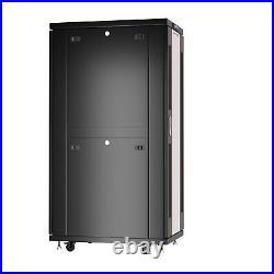 37 U Server Rack It Cabinet Network Enclosure Glass Door $190 Accessories