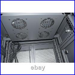 42U 23.6x 31.5 Server Rack Network Cabinet Enclosure Floor standing