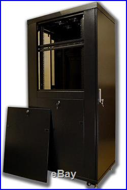 42U 39 Deep IT Network Data Free Standing Server Rack Cabinet Enclosure