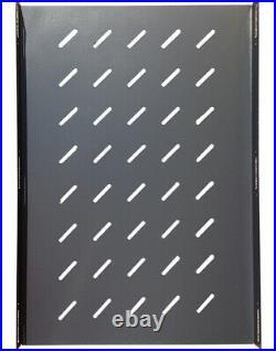 42U Server Rack IT Cabinet Data Network Rack Enclosure 24-Inch Deep Rack Stand