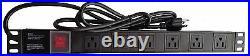 42 U Server Rack It Cabinet Network Enclosure Glass Door $190 Accessories