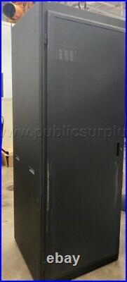 44u Server Rack SmartRack Wheeled Enclosure Cabinet with door and side panels